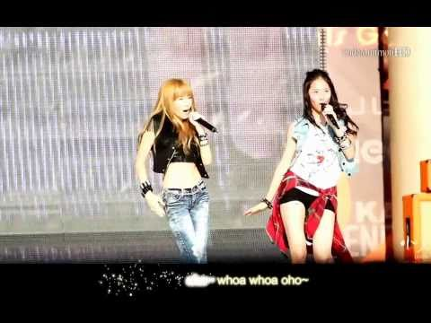 [Karaoke] Tik Tok - Jessica & Krystal (SM Town Concert Seoul)