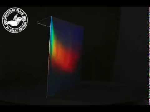 Creative Shine Holographic Shimmering Rainbow Envelope