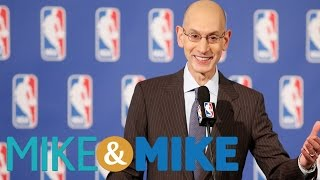 NBA Commissioner Hoping To Change NBA Incentives   Mike & Mike
