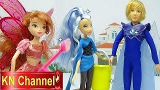 Đồ chơi trẻ em Bé Na & Winx Club Búp bê Sky Bloom Trix Icy Nổi oan Hoàng tử Kids toys