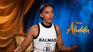 Can 'Aladdin' Stars Finish the Disney Song Lyric?   Mena Massoud, Naomi Scott, Alan Menken