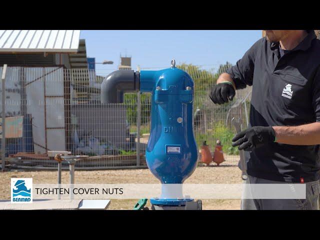 BERMAD C80 combination air valve – maintenance video