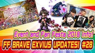 【FFBE】UPDATES! #28 FFBE Event and Fan Festa 2018 Info!【Global】