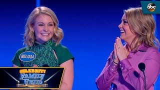 Melissa Joan Hart and Sister take on Fast Money - Celebrity Family Feud