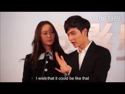 Yixing Lay x SooJung Krystal - Secret Love Song (FMV)