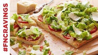 Caesar Salad Pizza | Food Network