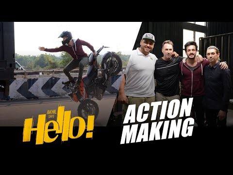 HELLO--Movie-Action-Making