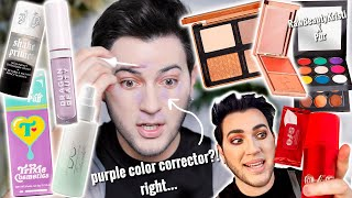 TESTING VIRAL NEW MAKEUP YOU ACTUALLY CARE ABOUT... hits and MAJOR fails