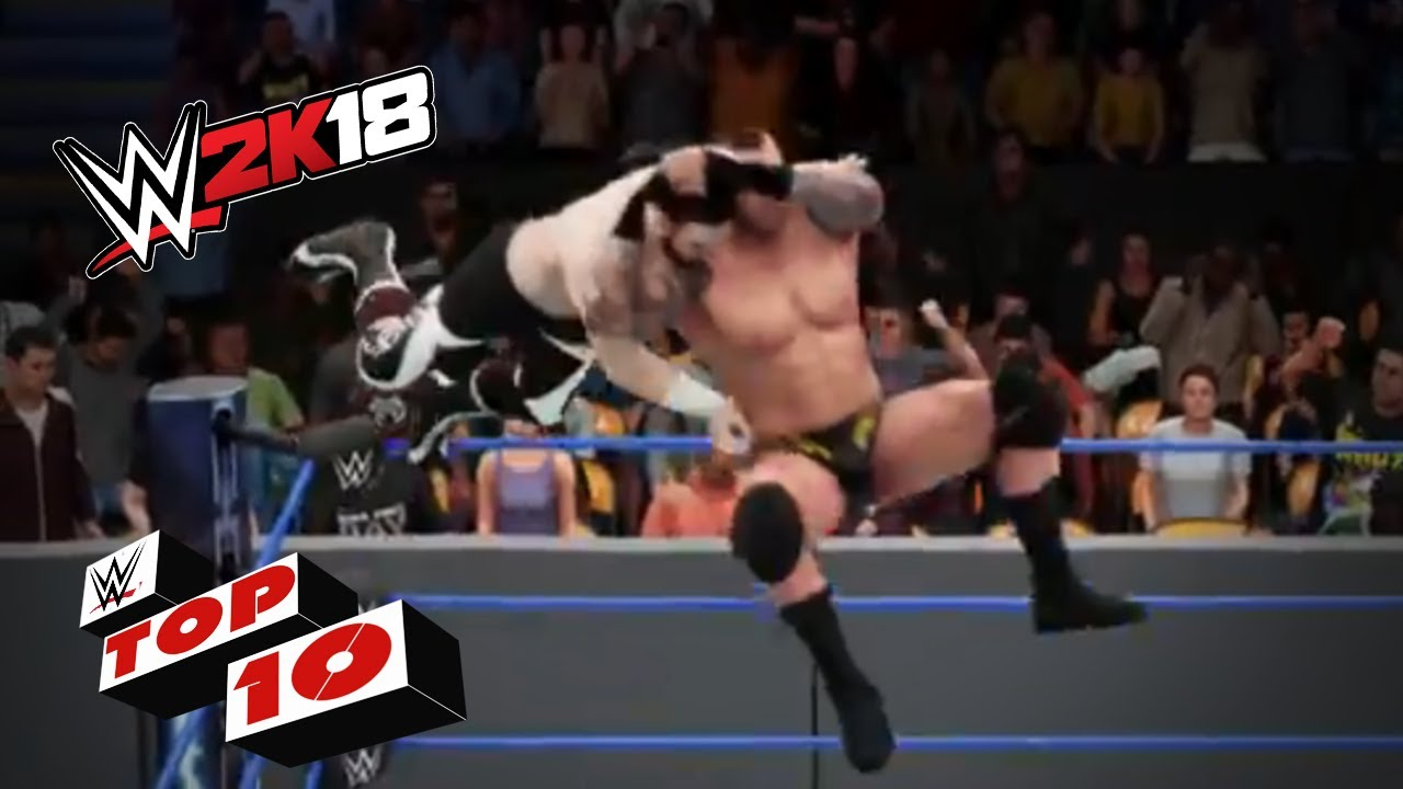 Video: WWE 2K18 Finishers Out Of Nowhere - Wrestling Inc