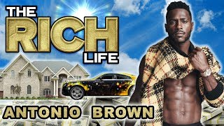 Antonio Brown | The Rich Life | Pittsburgh & Miami Mansions, Rolls Royce Phantom & more