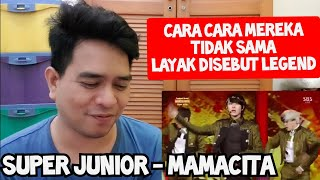 SAYA SUKA 😍   SUPER JUNIOR - MAMACITA   LIVE (Reaction)