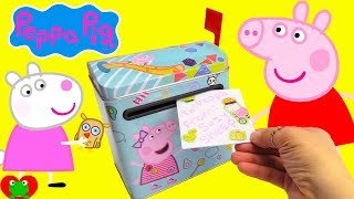 Learn Days of the Week Peppa Pig Gets Mail Surprise Presents