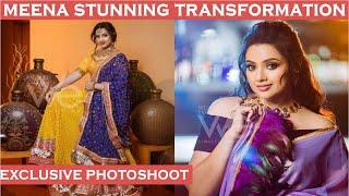 Behind the scenes: Actress Meena's exclusive photoshoot fo..