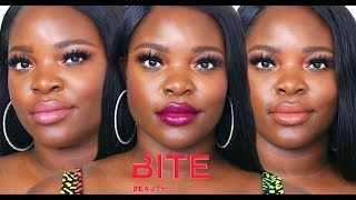 Bite Beauty Amuse Bouche Lip Swatch | National Lipstick Day | Le Beat