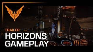 Elite Dangerous: Horizons - Planetary Landing Játékmenet Trailer