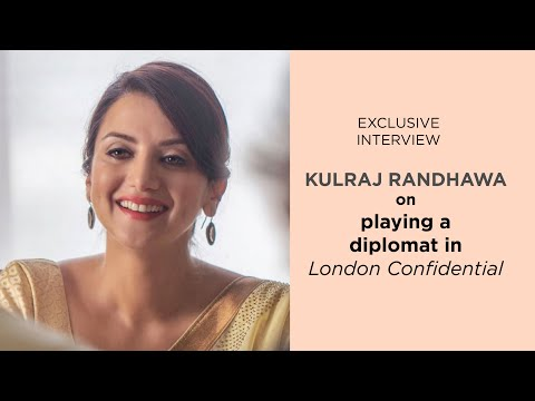 #kulrajrandhawa on playing a diplomat in #londonconfidential and shooting in during the pandemic