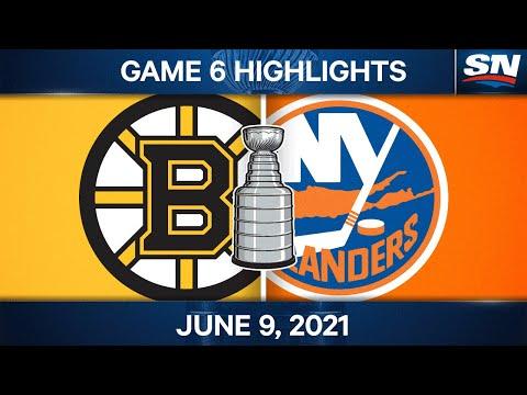NHL Game Highlights | Boston Bruins vs. New York Islanders, Game 6 - Jun. 9, 2021