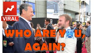 DISNEY CEO BOB IGER DELIVERS THE ICY COLD DISS TO ROUNDHEAD RIAN JOHNSON!