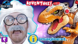HobbyHarry's Jurassic World Adventure Toy Hunt with HobbyKidsTV