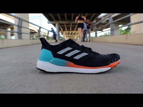 video adidas Men's Solar Boost Running Shoe