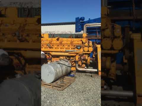 AM King Sells CAT D399 Generator for Project in Canada