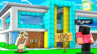 GOLD DIGGER Made Me PAY To Enter Her House.. Then She Did THIS!! (Minecraft)