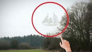 5 Lần Con Tàu Ma Xuất Hiện Vô Tình Được Camera Quay Lại || 5 Ghost Ships Caught On Camera