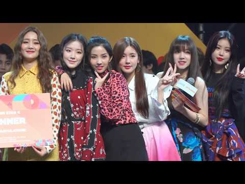 180930 Announcement by (G)I-DLE @ [KCON 2018 THAILAND] COVER STAR K (Final Round)