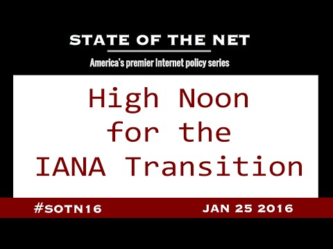 High Noon for the IANA Transition