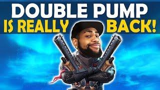 DOUBLE PUMP IS BACK   DOUBLE PUMP ONLY BUILD BATTLES   HOW TO DOUBLE PUMP SEASON 7!