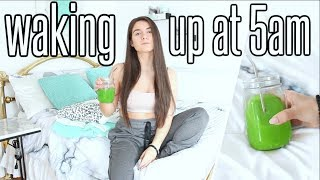 My 5AM MORNING ROUTINE | How To Be A MORNING PERSON 2019 !!