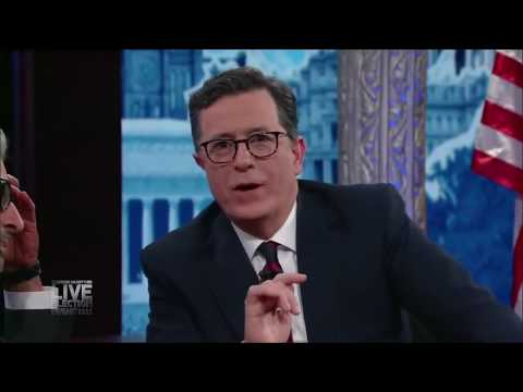 Colbert Devastated on Election Night