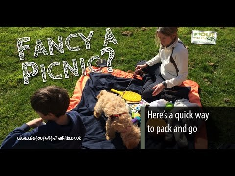video How to get the kids out for picnic using the Brug