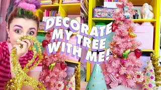 ♡ DECORATE MY TREE WITH ME ♡