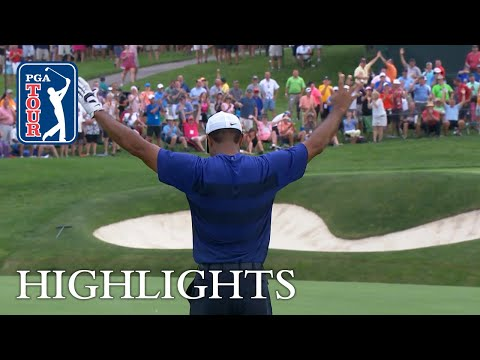 Tiger Woods' highlights   Round 2   from the Memorial