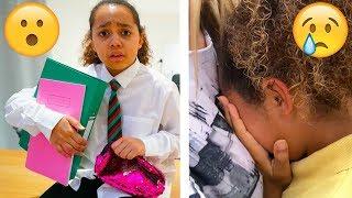TIANA'S LAST DAY OF SCHOOL