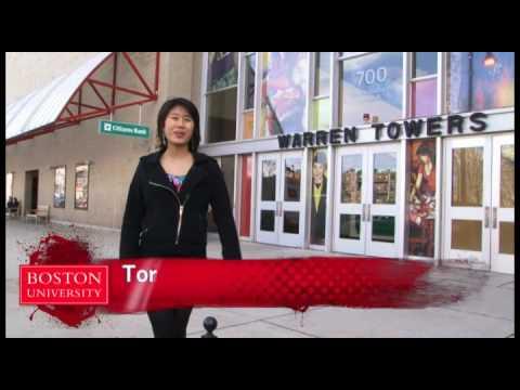 Living At Bu Warren Towers Dorms Youtube