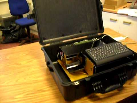 Identisys Quot Rugged Quot Portable Embossing Machine Cable