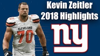 Newest Giant Kevin Zeitler #70 2018 Browns Highlights