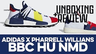 UNBOXING+REVIEW - adidas X Pharrell Williams BBC Hu NMD