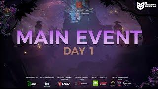 The International 9 | Main Event Day 1 | Natus Vincere vs Mineski | 23 Creative VN