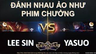 Liên Quân Mobile: Lee Sin VS Yasuo - Kèo solo cực hấp dẫn ai là người chiến thắng? Biết đâu được :)