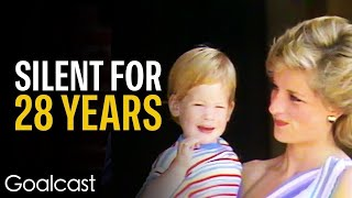 Prince Harry Opens Up About Princess Diana's Death | Life Stories by Goalcast