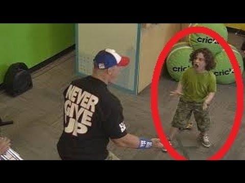This Happens When John Cena ATTACKS Kids!!!