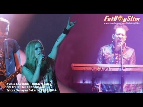 Baixar AVRIL LAVIGNE - ROCK N ROLL Live in Jakarta, Indonesia 2014