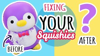Squishy Makeovers: Fixing Your Squishies #20