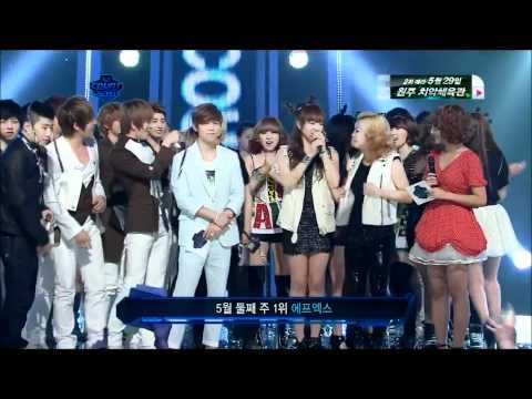 Mnet MCD - f(x) Pinocchio & 2nd Win [110512]