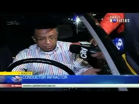 Primer conductor ebrio tras nueva ley fue multado con 28 millones de pesos