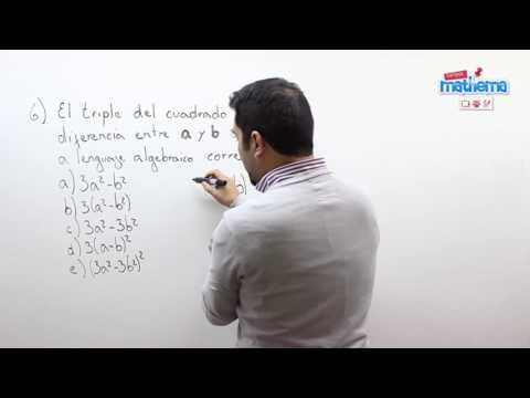 Prueba de algebra 9
