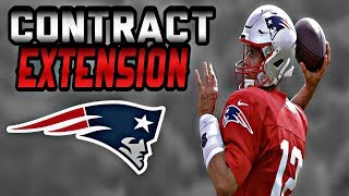 Patriots Sign QB Tom Brady to Contract Extension